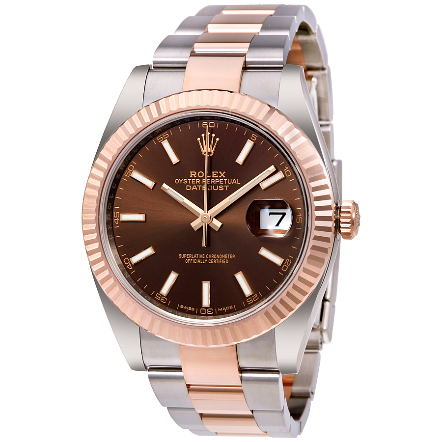 Rolex Datejust 41mm 126331 Chocolate Dial replica watch