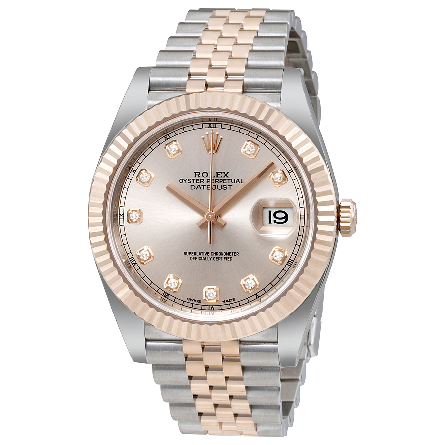 Rolex Datejust 126331 Sundust Diamond Dial replica watch