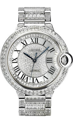 Cartier Ballon Bleu White Gold With Diamondshpi00253