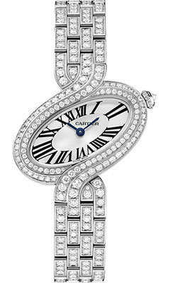 Cartier Delices de Cartier Small White Goldhpi00458