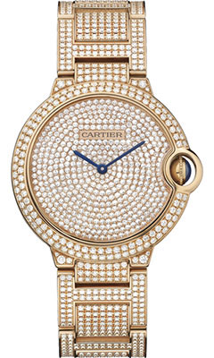 Cartier Ballon Bleu Pink Gold With Diamondshpi00489