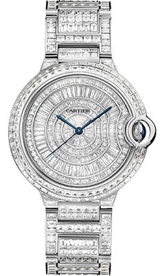 Cartier Ballon Bleu White Gold With Diamondshpi00511