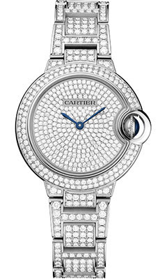 Cartier Ballon Bleu White Gold With Diamondshpi00562