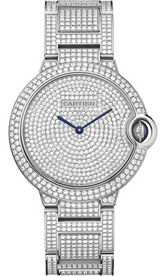 Cartier Ballon Bleu White Gold With Diamondshpi00581
