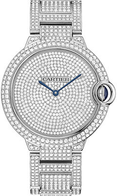 Cartier Ballon Bleu White Gold With Diamondshpi00582