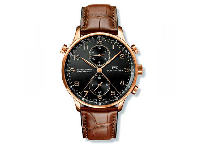 Replica IWC Portugieser Chronograph Rattrapante Edition Boutique watches on sale