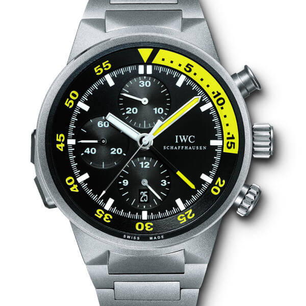IWC Aquatimer Split Minute Chrono Titanium Men's Watch IW372301