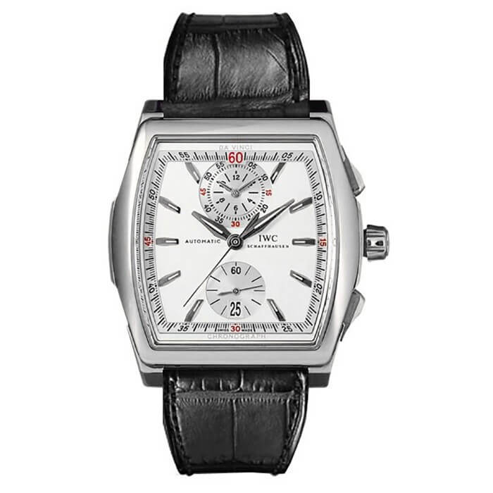 IWC Da Vinci New Automatic Chronograph Mens Watch IW376405