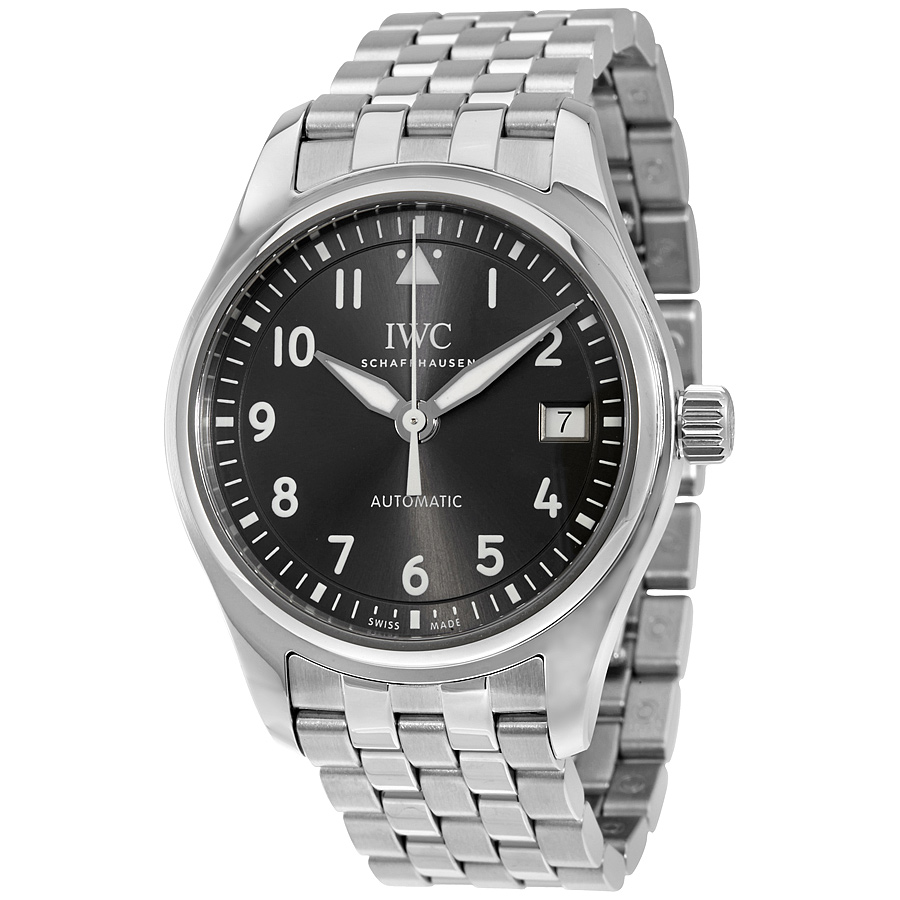 IWC Pilot Automatic Slate Grey Dial Watch IW324002