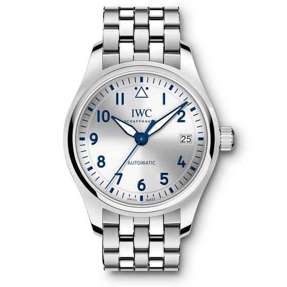 IWC Pilot Automatic Slate Grey Dial Watch IW324004