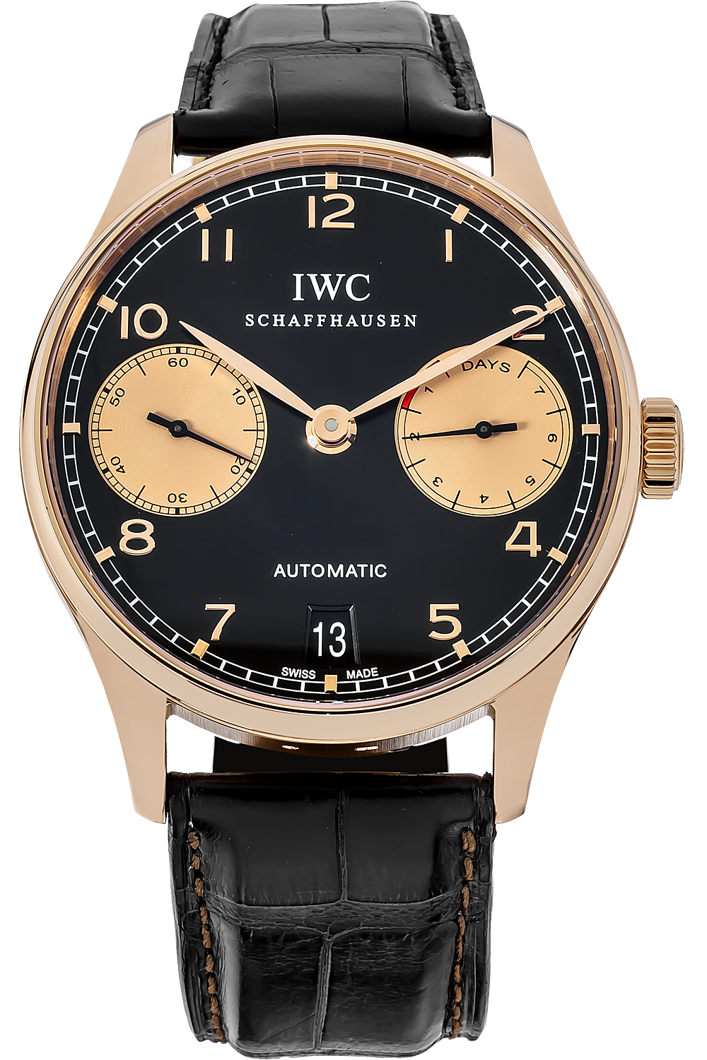IWC Portuguese 7 Day Automatic Boutique Edition watch IW500121