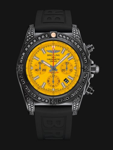 Breitling Chronomat 44 Blacksteel Yellow MB0111AV/I532/262S/M20DSA/2 Watch