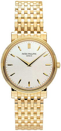 Patek Philippe Calatrava 18kt Yellow Gold Men's Watch 5120-1J