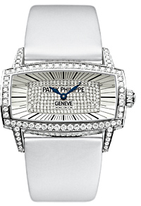 Patek Philippe Gondolo Gemma White Gold Ladies Watch 4982G