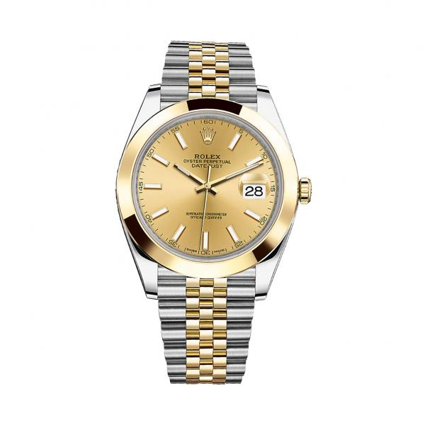 Rolex Datejust 41mm 126303 Champagne Dial replica watch