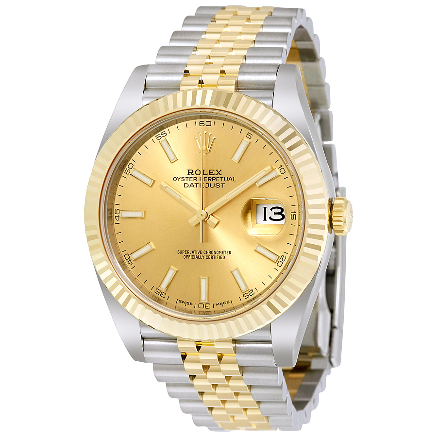 Rolex Datejust 126333 Champagne Dial replica watch