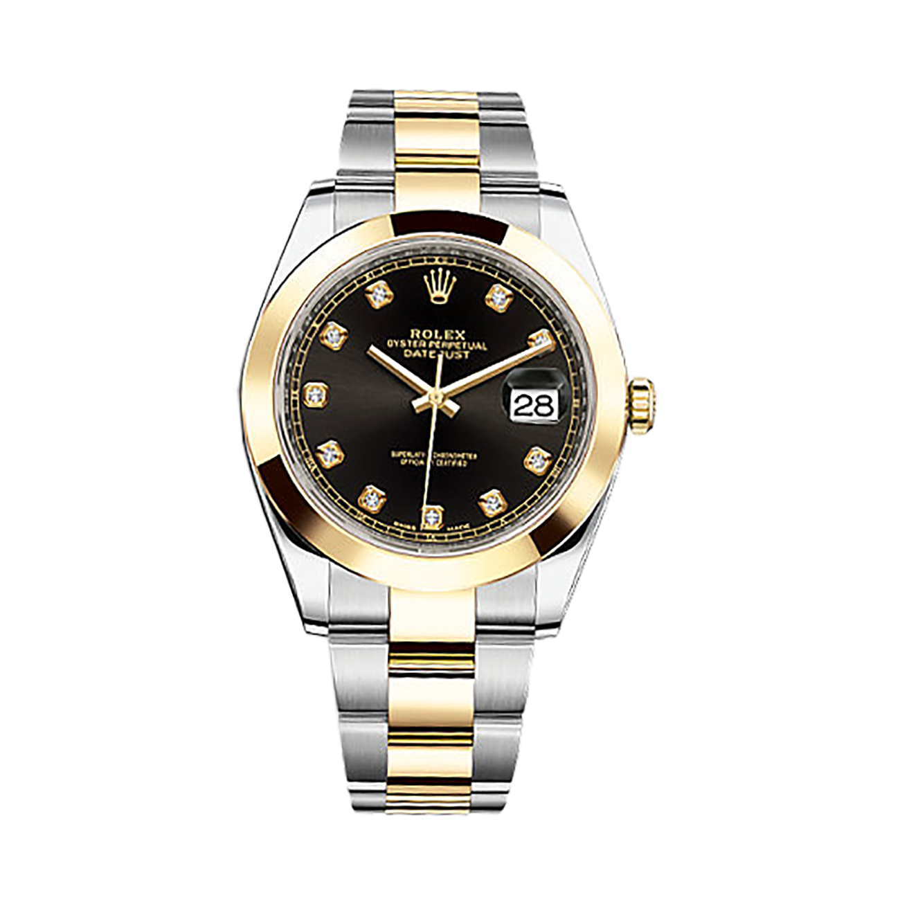 Rolex Datejust Black Diamond Dial 126303 replica watch