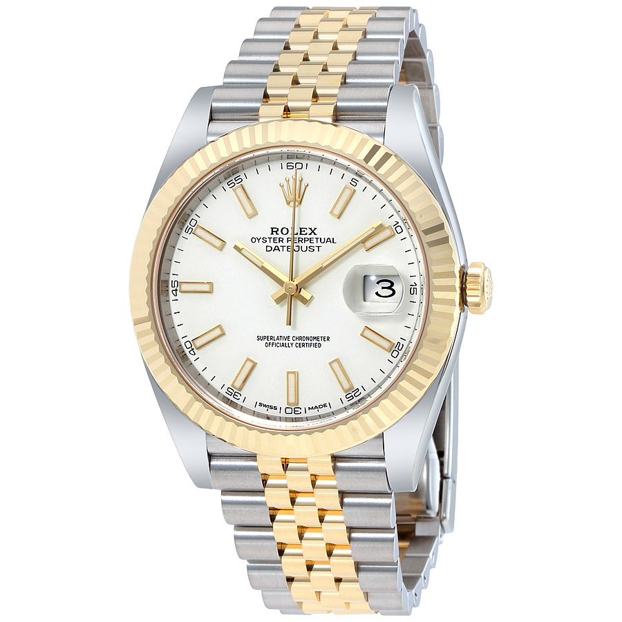 Rolex Datejust 41mm 126333 White Dia replica watch
