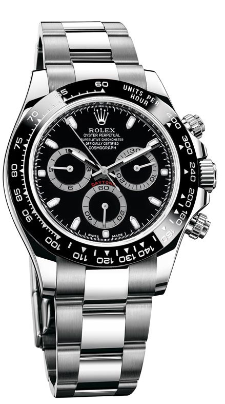 Rolex Cosmograph Daytona 116500 Black Dial replica watch