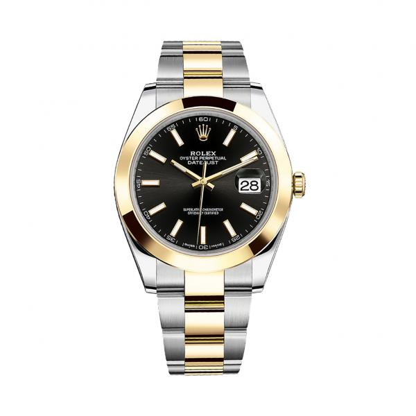 Rolex Datejust 41 Black Dial 126303 replica watch