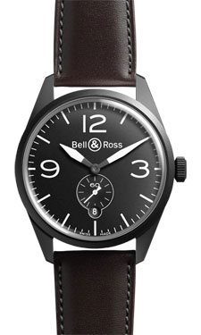 Bell & Ross Vintage BR 123 Automatic Original Carbon