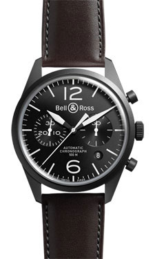 Bell & Ross Vintage BR 126 Chronograph Original Carbon