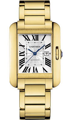 Cartier Tank Anglaise Yellow Goldw5310015