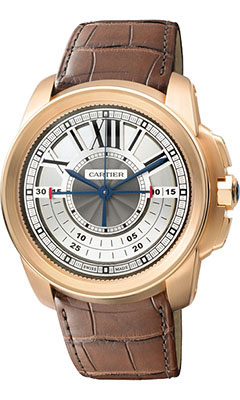 Cartier Calibre de Cartier Chronograph Pink Goldw7100004