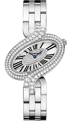 Cartier Delices de Cartier Large White Goldwg800009