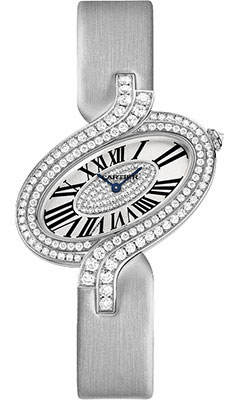 Cartier Delices de Cartier Large White Goldwg800019