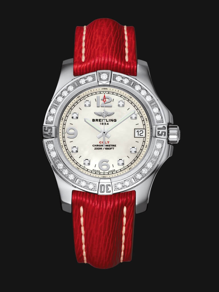 Breitling Colt Stainless Steel Lady A7438953/A771/214X/A16BA.1 Watch