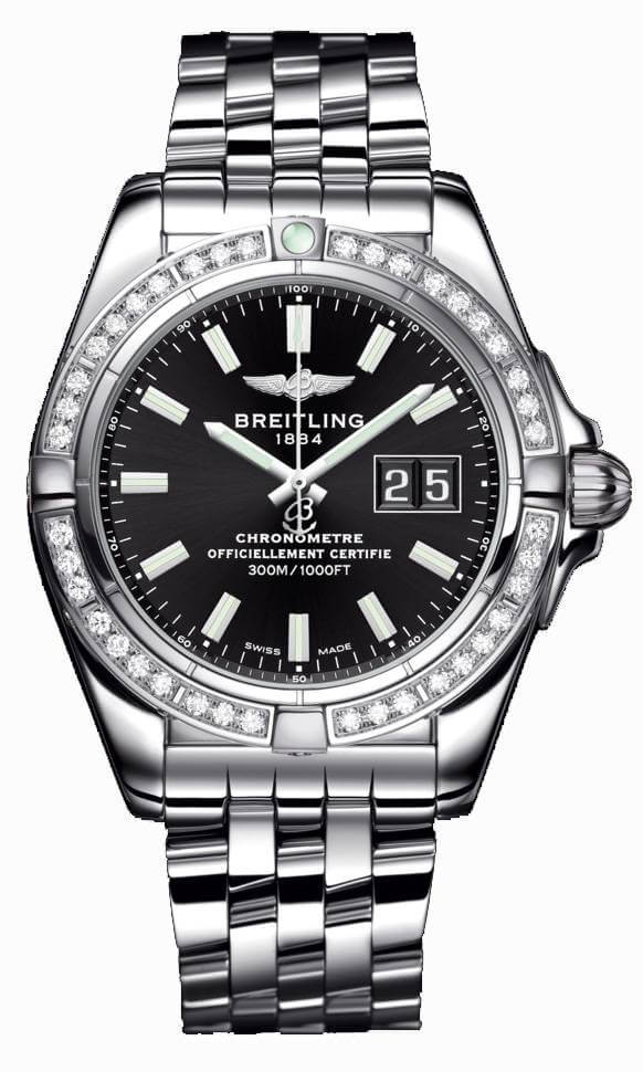 Breitling Galactic 41 A49350LA/BE58/366A Stainless Steel Watch