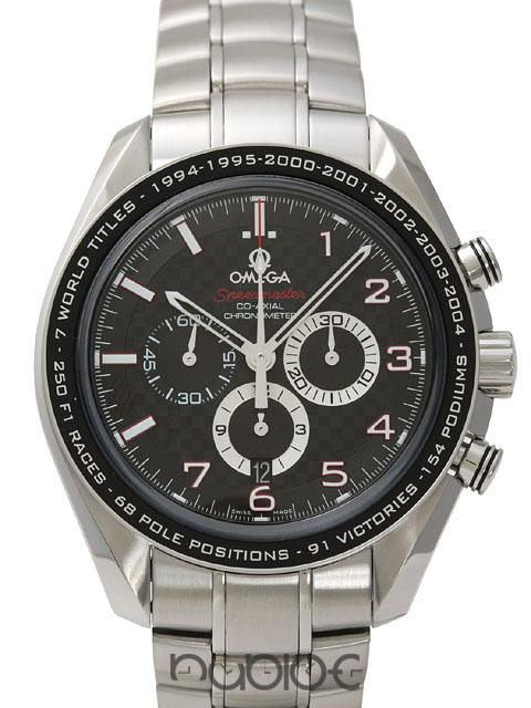 OMEGA SPEEDMASTER COLLECTION Co-Axial Chronograph M. Schumacher
