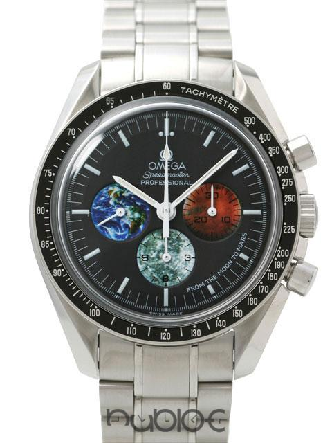 OMEGA SPEEDMASTER COLLECTION PROFESSIONAL FROM THE MOON TO MARS