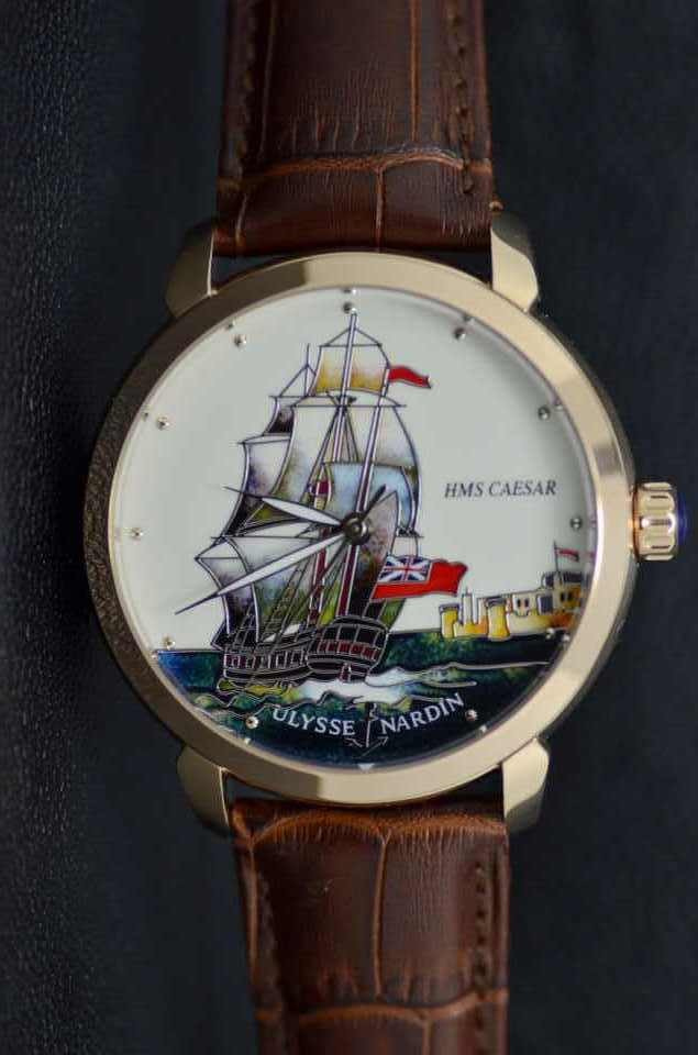 Ulysse Nardin Hms CAESER BOATS replica watches WHITE