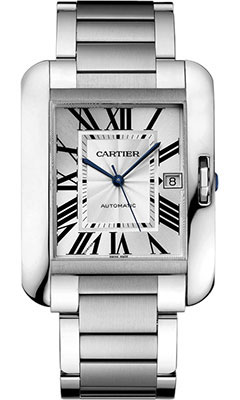 Cartier Tank Anglaise Stainless SteelW5310008