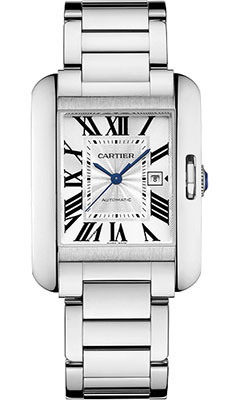Cartier Tank Anglaise White GoldW5310024