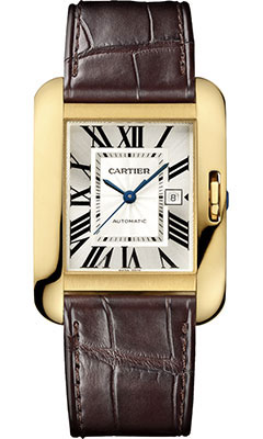 Cartier Tank Anglaise Yellow Gold - Alligator StrapW5310030