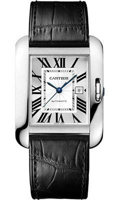 Cartier Tank Anglaise White Gold - Alligator StrapW5310031