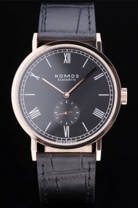 Nomos Glashutte Tangomat Rose Gold Bezel (nm02)