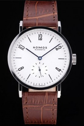 Nomos Glashutte Tangomat Polished Stainless Steel Bezel (nm03)