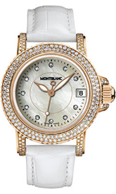 Montblanc Sport Lady Red Gold Diamonds104711