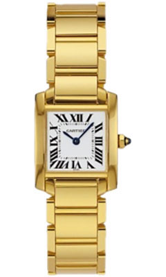 Cartier Tank Francaise Small Goldw50002n2