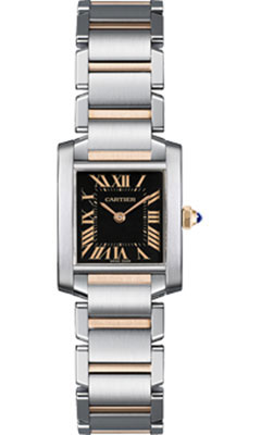 Cartier Tank Francaise Small Steel and Goldw5010001