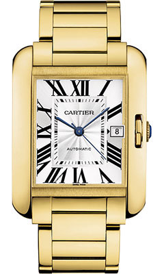 Cartier Tank Anglaise Yellow Goldw5310018